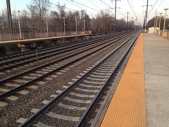 train tracks and orange1 - photo #28