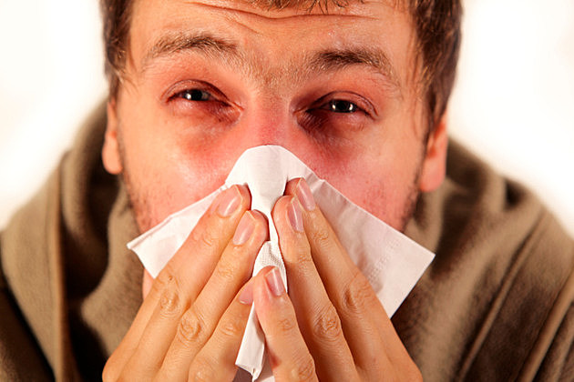 Allergy, Clod, Flu - Blowing nose