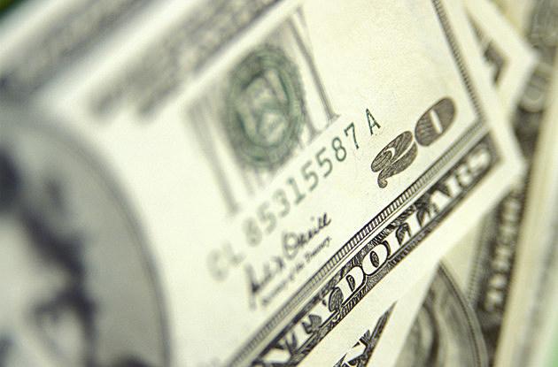 Pile of Twenty Dollar Bills