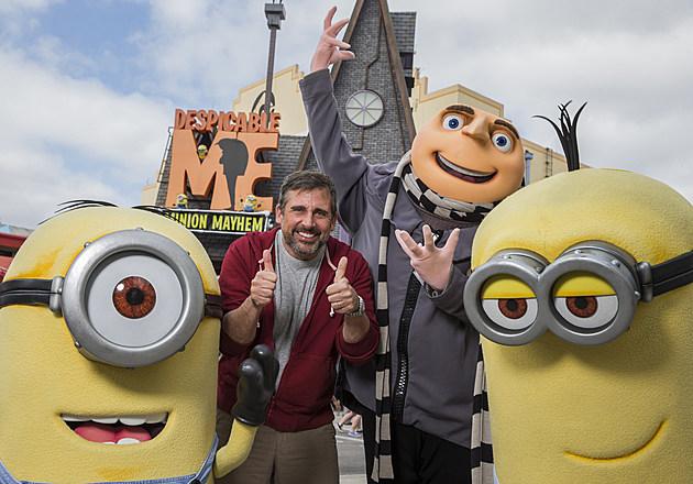 Steve Carell Visits Universal Orlando Resort
