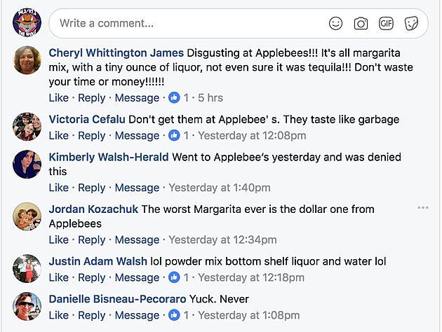 an applebee s dollarita apology